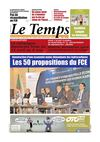 Le Temps d&#039;Algrie Edition du Jeudi 15 Mars 2012