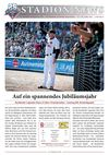 Stadionnews Nr. 01/2012 - Buchbinder Legionäre vs. Bad Homburg Hornets