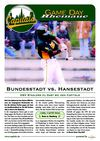 Game Day Rheinaue - Vol. 2 - Bonn Capitals vs. HSV Stealers