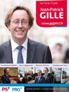 candidature Jean Patrick Gille legislatives 1ere circonscription Indre et Loire