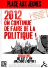 2012, on continue de faire de la politique