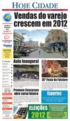 Jornal Hoje Cidade 18-08-2012