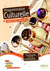 Programmation culturelle S1 2012/13