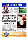 Jornal A Razo Santa Maria - 25082012