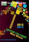 Programme de la saison culturelle 2012