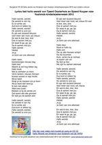 Blauw lyrics