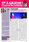 Journal des socialistes du 17e septembre 2012