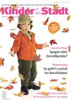 Ausgabe 5 Oktober / November 2012 &quot;Kinder in der Stadt&quot;
