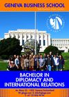 BACHELOR IN DIPLOMACY AND INTERNATIONAL RELATIONS