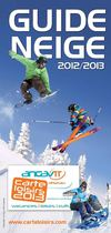 Guide neige Carte Loisirs 2012/2013
