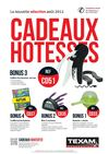 Cadeaux htesses Texam et FG