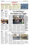 Le co working  Annecy : Article du Dauphin Libr
