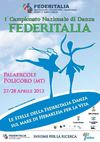 OPUSCOLO 1 CAMPIONATO DI DANZA FEDERITALIA