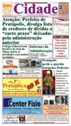 Jornal Cidade de Pratpolis - Edio n 30 de 08/03/2013