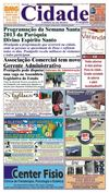 Jornal Cidade de Pratpolis - Edio n 31 de 22/03/2013