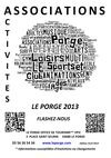 LE PORGE ASSOCIATIONS 2013 POUR CALAMEO