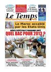Le Temps d&#039;Algrie Edition du Dimanche 21 Avril 2013