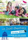 Le Saint-Quentinois - Le guide de vos loisirs - saison 2013