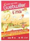 Foire aux vins de Guebwiller - Liste des vins
