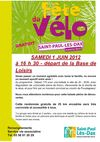 Fte du vlo : rglement 2013