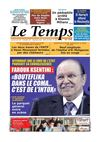 Le Temps d&#039;Algrie Edition du Lundi 20 Mai 2013