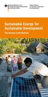 Sustainable_energy for Sustainable Development - The German Contributions