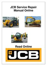 JCB 8052 8060 Midi Excavator Service Repair Workshop Manual DOWNLOAD