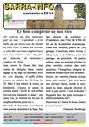 Sarra Info Septembre 2014 : Le bon compteur de nos vies